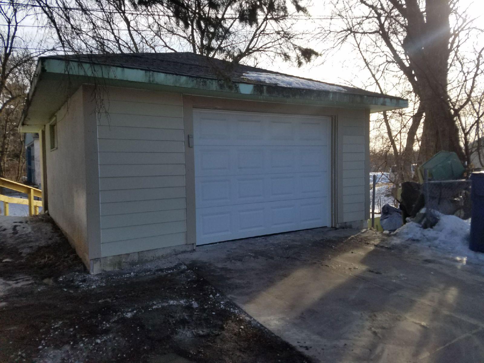 After garage repair